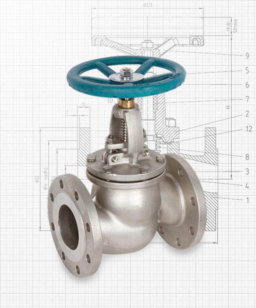 Nexam Industries - Globe valve