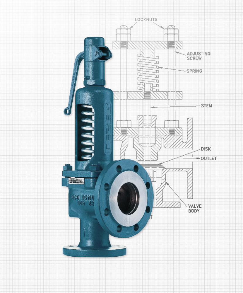Nexam Industries - Safety and relief valves